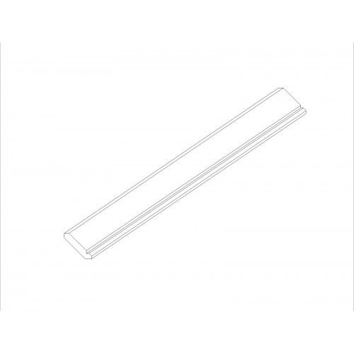 "Heidelberg Angled Crown Molding (96"") Accessory - 3.5"" W"