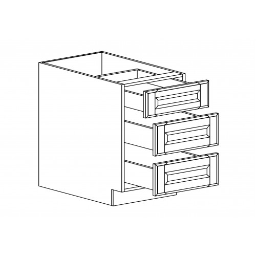 "Oxford Drawer Base - 21"" W x 34.5"" H x 24"" D"